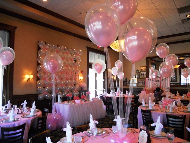Baloane Botez Baloane Nunti Aranjamente Masa Din Baloane